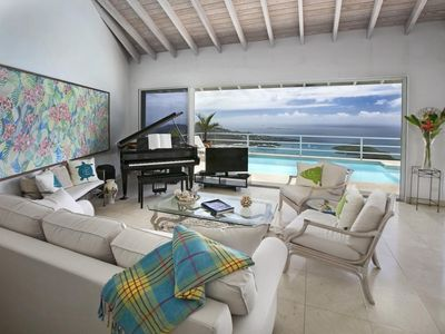 Photo for VILLA MARTI  With Breathtaking Views Of Down Town And The Carribeab Sea