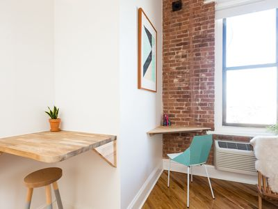 Photo for Beautiful City View Studio Loft in Converted Factory