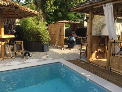 Photo for ARCHIPEL Gîtes 4 * PRIVATE SWIMMING POOL and access to SEVEN'SPA