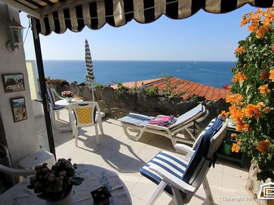 Photo for Nice apartment with a great terrace and beautiful views, near Arguineguin