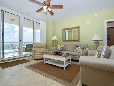 Photo for Gulf-Front Condo: Stunning Views! FREE Seasonal Beach Service! TWO KING BEDS!😎