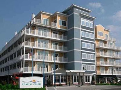 Photo for Beautiful End Unit, Upscale Condo With Ocean And Bay Views, Beach Block