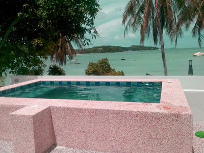 Photo for Beachfront 2 bedrooms apartment - Stunning seaview