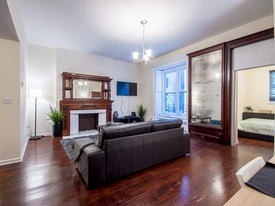 Photo for Large one bedroom apt one block from central park 30 DAY MINIMUM RENTAL