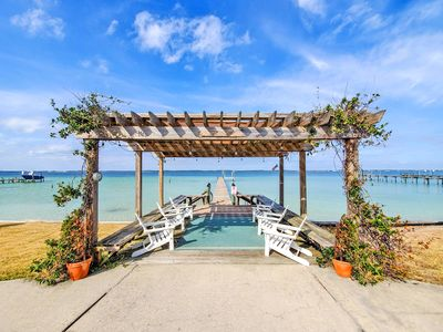 Photo for Bring Your Boat! Wonderful Sound Front Home with a Pier