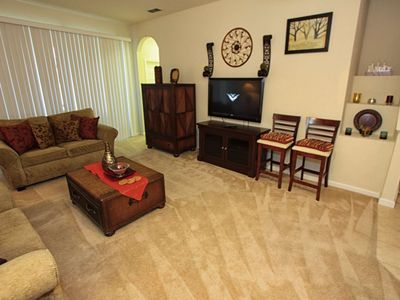 Photo for Budget Getaway - Trafalgar Village Resort - Welcome To Relaxing 3 Beds 3 Baths Townhome - 10 Miles To Disney