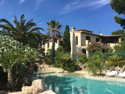 Photo for Beautiful Studio in a large Provencal Villa