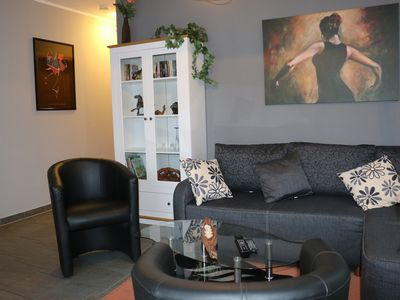 Photo for newly renovated apartment - 45sqm - dogs welcome - WLAN incl.