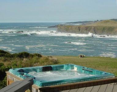 Photo for Panoramic WhiteWater Oceanfront CliffTop:Headlands/Cove/Ocean Vistas