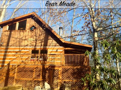 Photo for Bear Meade - 2 bdrms/2 bathrooms, pool access, gas fireplaces, private and charming, hot tub & more