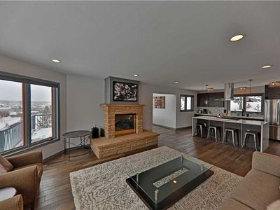 Photo for Ridge-top home with private hot tub, exceptional views, and central location