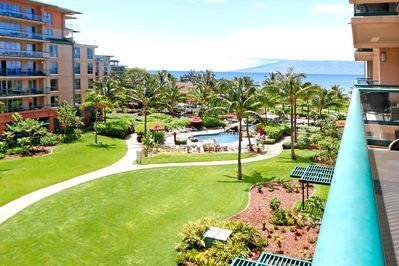 Great views from the lanai.
