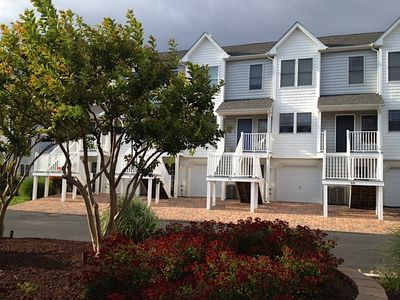 Photo for Bay Waterfront Townhouse with Boat Slip Close to Bethany Beach