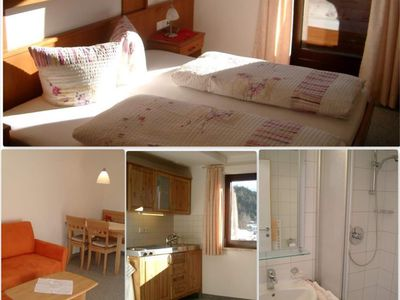 Photo for Top 7 apartments / 1 bedroom / shower, WC - Gästehaus Edelweiss