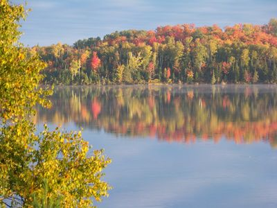 Photo for On the water overlooking Algonquin Park