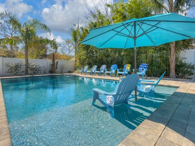 Photo for Luxury Beach House with Pool, Backyard Oasis and Game Room - Sleeps 16