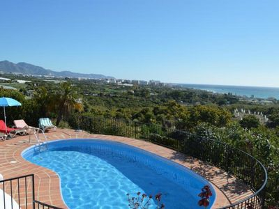Photo for Holiday house Nerja for 2 - 8 persons with 4 bedrooms - Holiday house