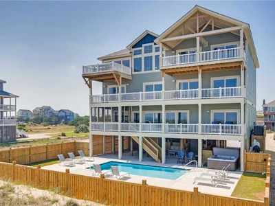 Photo for New Oceanfront Estate- Pool, Hot Tub, Elevator, Theater & Game Rms, Dog-Friendly