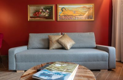 Photo for Stylish Goldfinger Junior Suite Individual, with garden view, WLAN, outdoor pool, and parking
