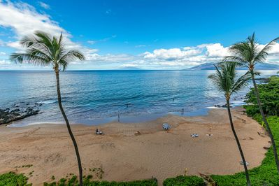Popular Polo Beach as See from Your Private Lanai