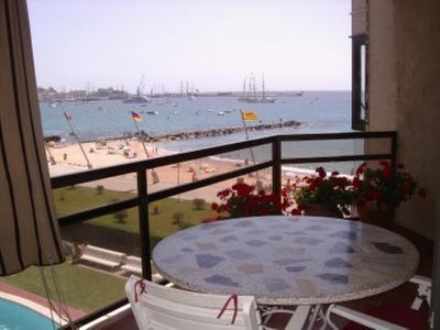 Photo for Sea-front apartment, magnificent views