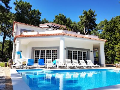 Photo for Great villa within Golf Resort, Pool,next to fantastic Beaches (Lisbon-Portugal)
