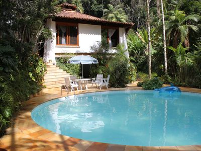 Photo for Holiday House Teresopolis Refuge, surrounded by forest, area environmental protection
