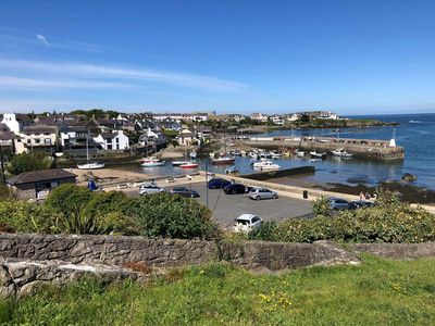 """Photo for 4* """"Quayside"""" Apartment in heart of beautiful Cemaes Bay. Dog friendly"""