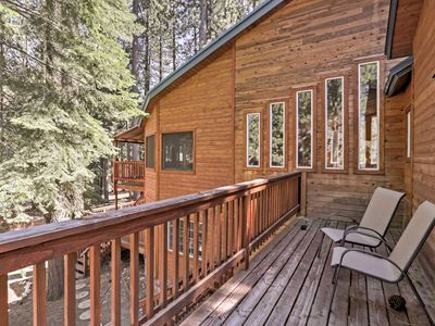 Photo for South Lake Tahoe Cabin w/Private Sauna & Game Room