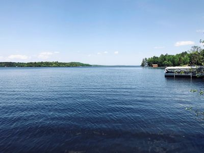 Photo for 2 Bedroom Lake Cabin: Electric Dock, Cable,WiF;Pet Friendly, Owner Fishing Guide