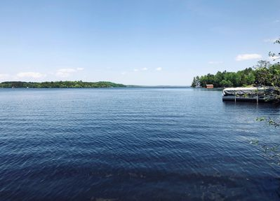 Gorgeous lake views from dock!