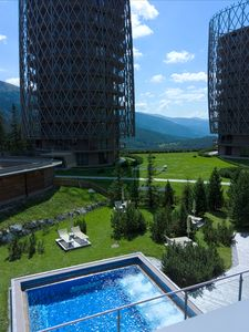 Photo for Standing apartment with 2000 m2 wellness