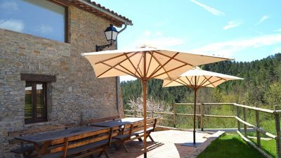 Photo for 7 bedroom Villa, sleeps 18 in Ripoll with Pool and WiFi