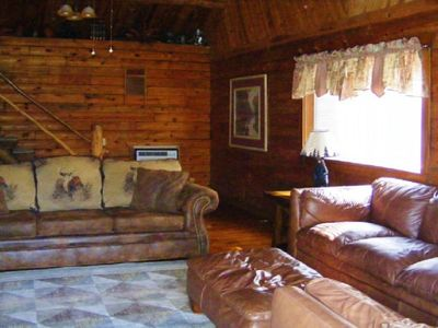 Photo for High Shoals Cabins, Cabin 4.  Two miles from Lake Ouachita access