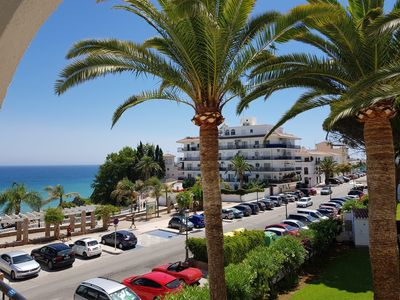 Photo for 25% off from 19 May to 2 June - Stunning 1 bed apartment with pool & sea views