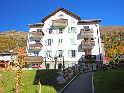 Photo for Apartment Chesa Corvatsch in Pontresina - 4 persons, 2 bedrooms