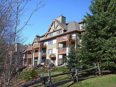 Photo for Ski In & Ski Out Condo on the cliffs of Mont-Tremblant
