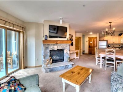 Photo for LARGER 1-Bedroom Condo in the Heart of Keystone's River Run Village