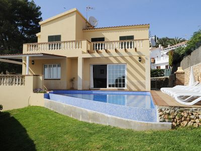 Photo for VILLA 'PANORAMA' HOUSE WITH PRIVATE POOL, GARDEN AND SEA VIEWS.