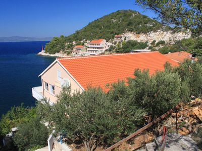Photo for One bedroom apartment near beach Zaklopatica, Lastovo (A-8342-d)