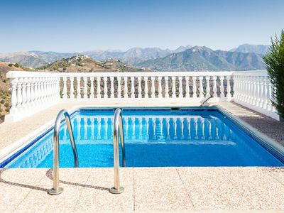 Photo for This 2-bedroom villa for up to 4 guests is located in Nerja and has a private swimming pool and Wi-F