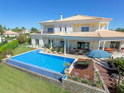 Photo for Villa Brilhasol is a beautiful, modern and contemporary 5-bedroom villa, set within the exclusive an