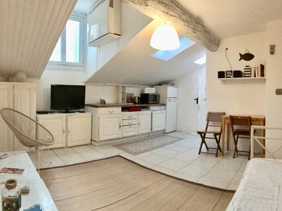 Photo for Lou Pitchoun peaceful 1Br Sea, Harbour/ Old Town
