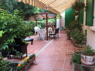 Photo for Pretty house with garden, close to the sea, very quiet,
