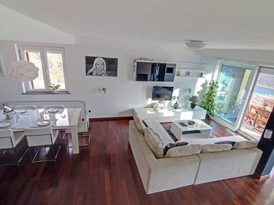 Photo for Luxury two floor penthouse near Dubrovnik with stunning view from terrace.