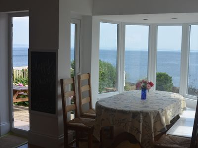Photo for 'Like being on an Island' Dreamy sea views, gated garden, access to sea, 4-12