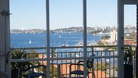North Sydney with views.