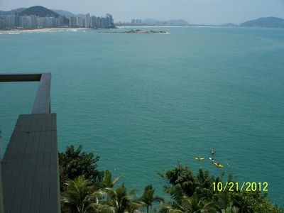 Photo for GUARUJÁ - Praia de Asturias - APTO FOOT IN THE SAND - Beachfront - 2 bathrooms