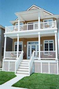 Photo for Beautiful, New home 1 block from the beach in Ocean City's South End