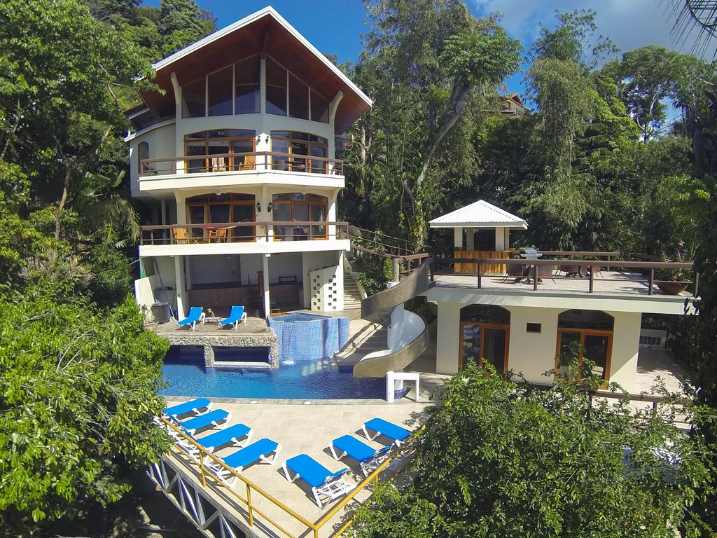 luxury villa spectacular views monkeys homeaway manuel antonio
